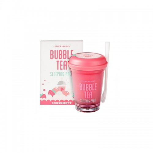 Ночная маска для лица Etude House Bubble Sleeping Pack Strawberry 100 гр