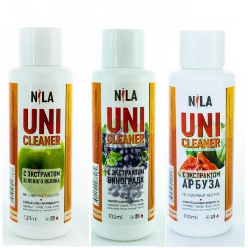 Nila Uni-Cleaner Универсальная жидкость для снятия/очистки в ассорт., 100 мл