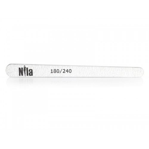 Nila Пилочка для ногтей маленькая Капля серая 180/240