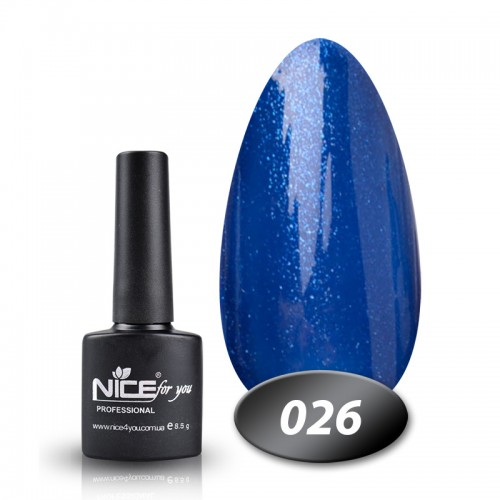 Гель-лак Nice for you Professional 8,5 ml №026