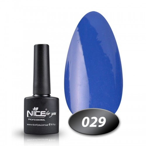 Гель-лак Nice for you Professional 8,5 ml №029
