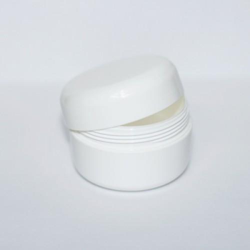 Баночка для крема белая 15 мл PRO